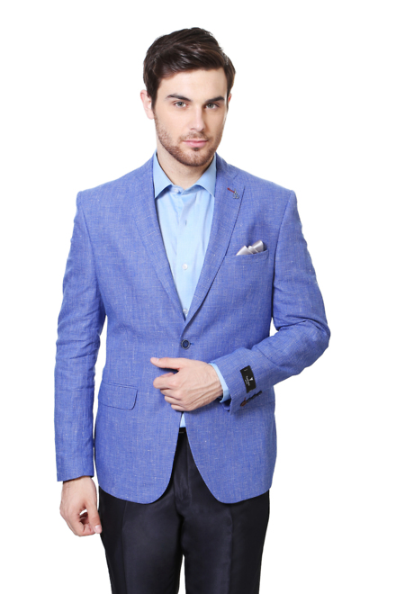 Van Heusen Suits & Blazers, Van Heusen Blue Blazer for Men at ...
