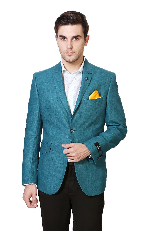 Van Heusen Suits & Blazers, Van Heusen Teal Blazer for Men at ...