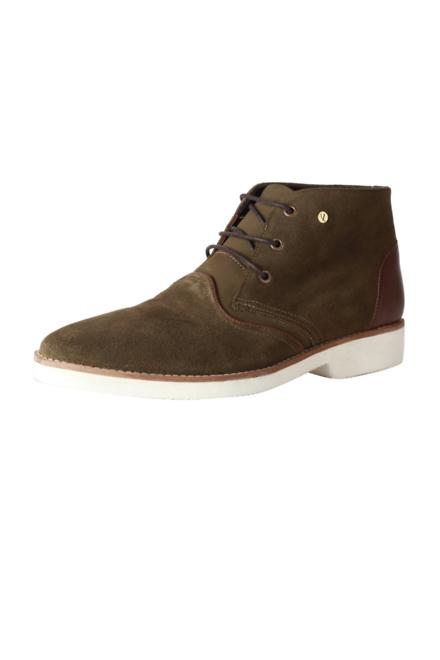 Van Heusen Olive Casual Shoes for Men