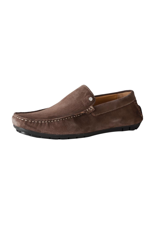 aac225b4b4a433 Van Heusen Brown Loafers