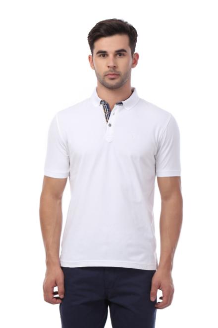 van heusen t shirts van heusen white t shirt for men at