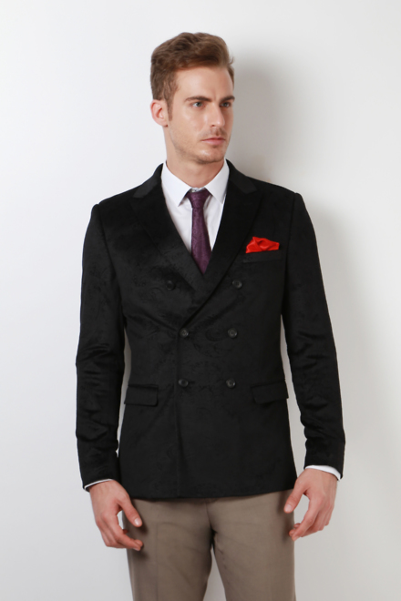 Peter England Suits U0026 Blazers Peter England Black Blazer For Men At Peterengland.com