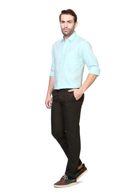 Buy Peter England Mens Trousers Peter England Pants Online