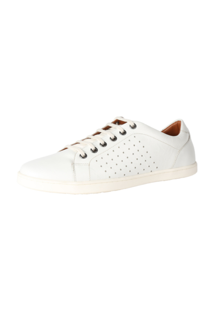 Louis Philippe White Casual Shoes