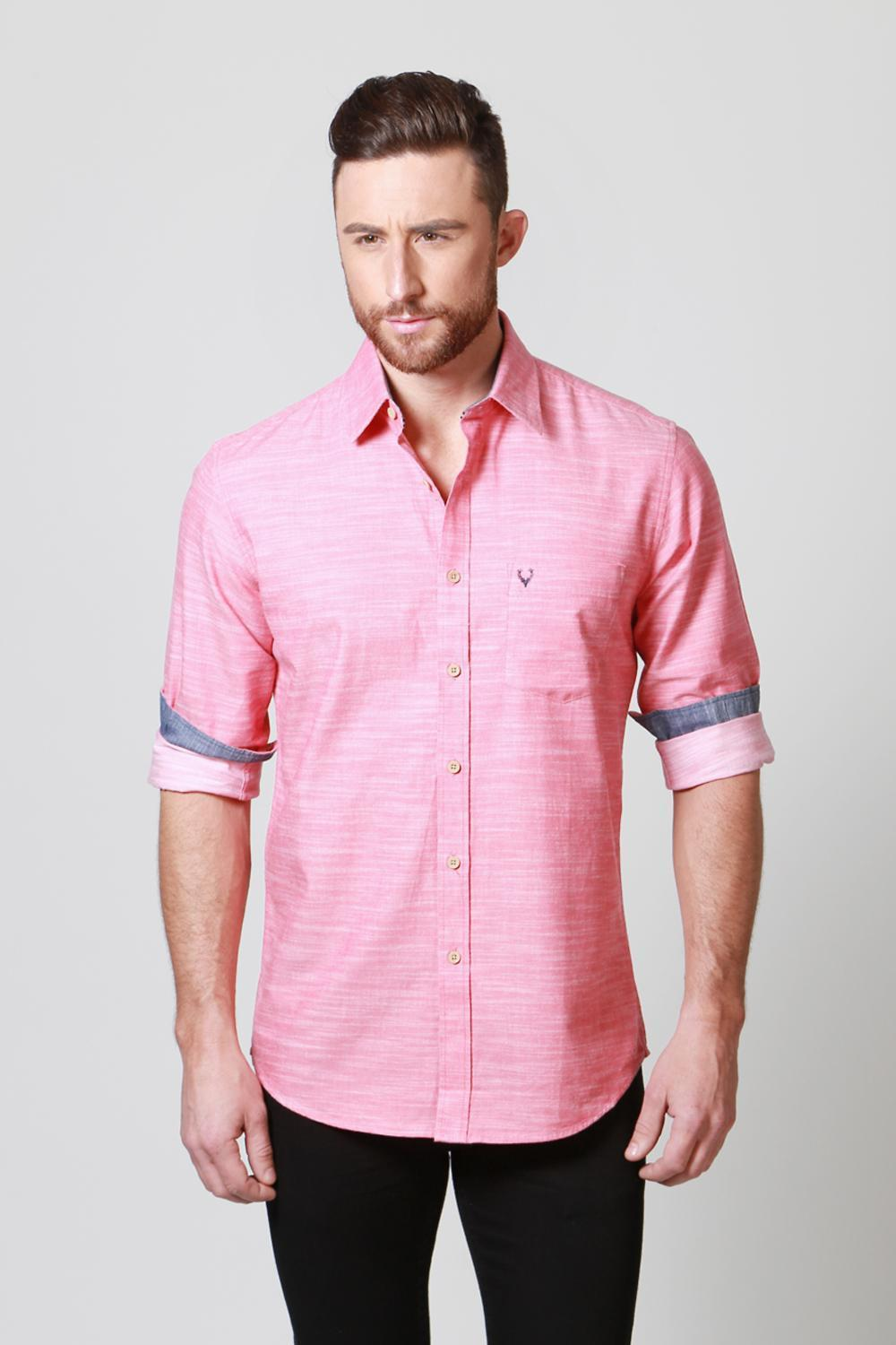 Buy Allen Solly Mens Shirt-Formal Shirts, Casual Shirts for Men ...