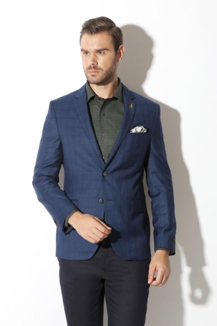 a74f051a Van Heusen Suits & Blazers, Van Heusen Navy Blazer for Men at  Vanheusenindia.com
