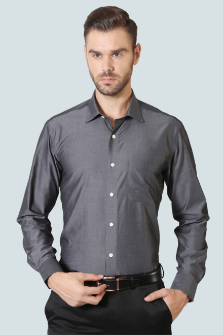 68584adccd Louis Philippe Shirts, Louis Philippe Grey Shirt for Men at ...