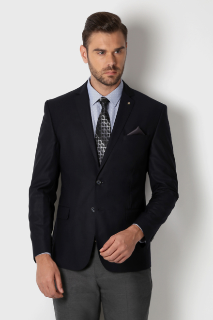af8c67b0a917e1 Peter England Elite Suits & Blazers, Peter England Navy Euro Fit ...
