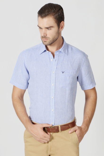buy allen solly mens shirt formal shirts casual shirts for men