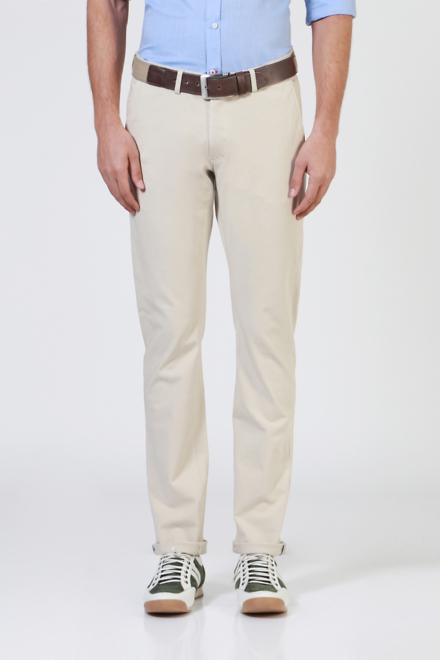 98c966b1 Solly Sport Trousers & Chinos, Allen Solly Beige Wimbledon Trousers ...
