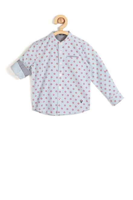 c51ec03e39 Allen Solly Junior Shirts & Tees, Allen Solly Blue Shirt for Boys at  Allensolly.com