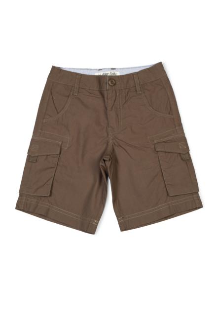 0889a2a23e Allen Solly Junior Shorts & Bermudas, Allen Solly Brown Shorts for ...
