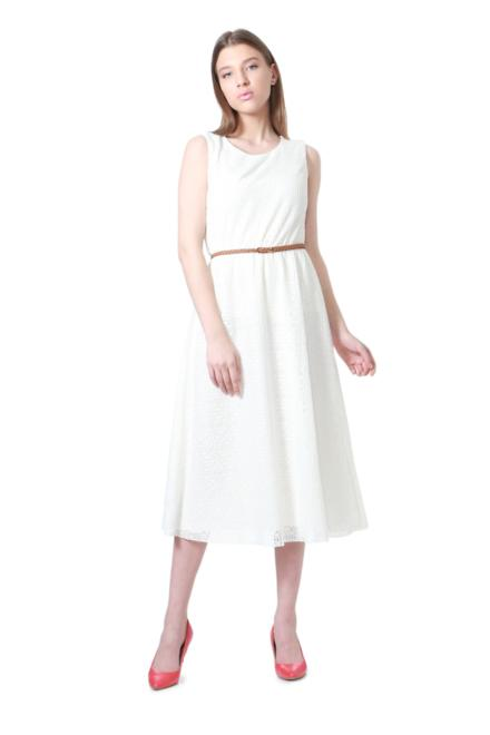 ccfbc56057db5 Solly Dresses, Allen Solly White Dress for Women at Allensolly.com