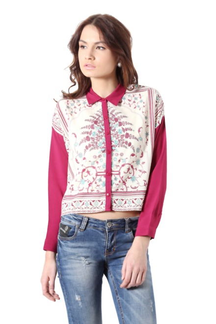 4e6462a51e Buy PEOPLE Shirts and Blouses for Women Online
