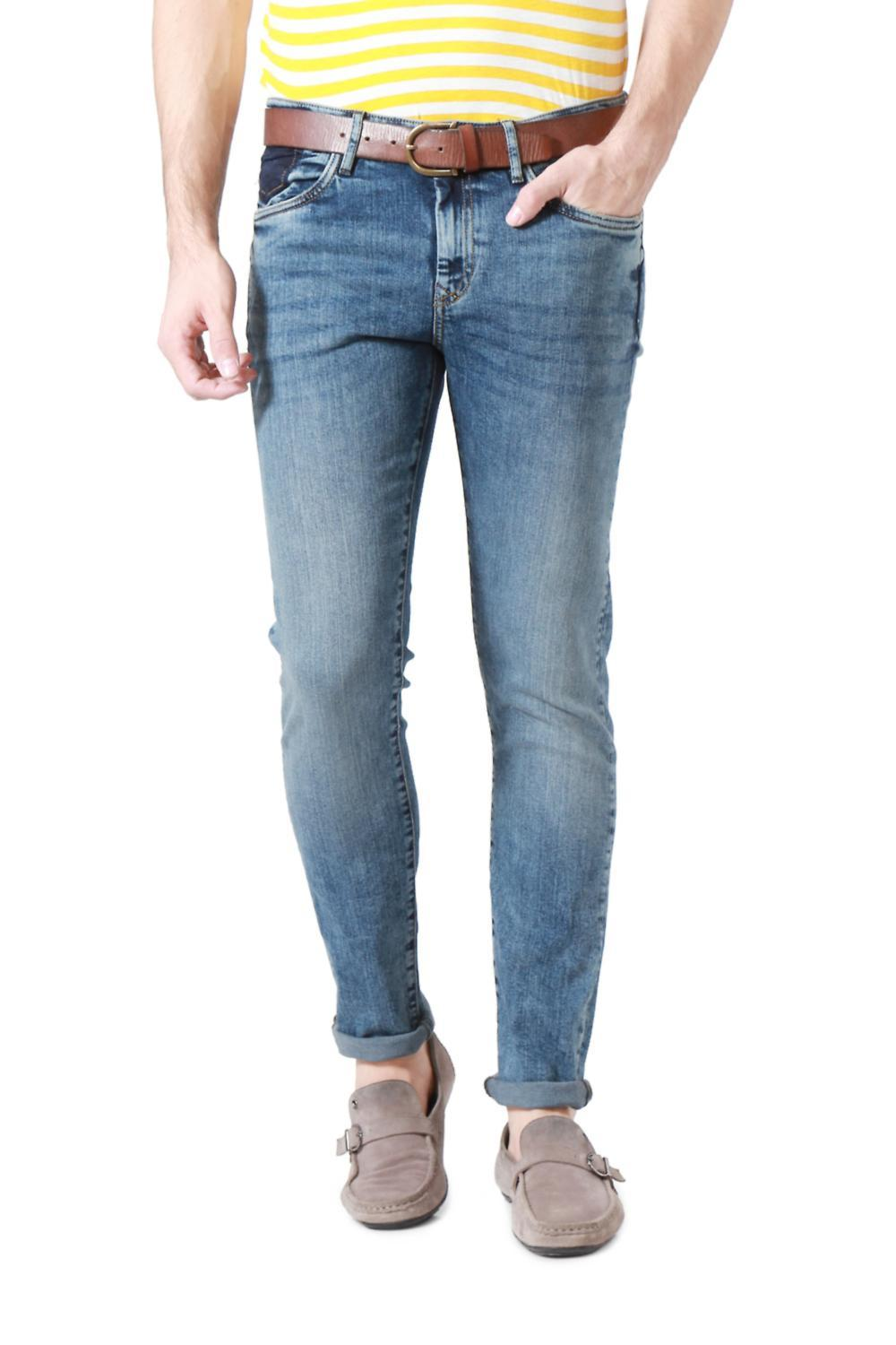 Solly Jeans Co Jeans, Allen Solly Blue Jeans for Men at Planetfashion.in