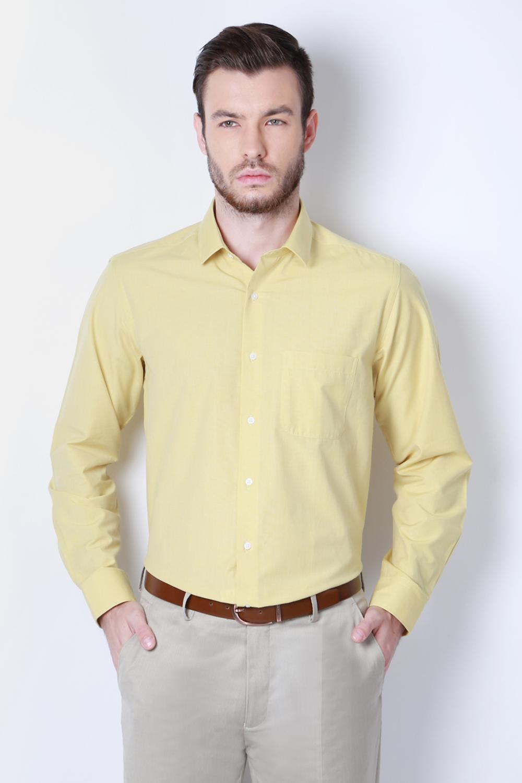 093e2bac8714 Peter England Yellow Shirt