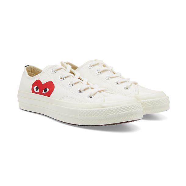 Play Comme Des Garcons Shoes, Beige