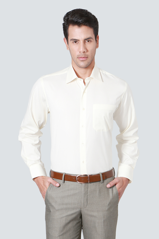 2eee41d989c Louis Philippe Cream Shirt