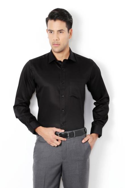 Van heusen black dress shirt