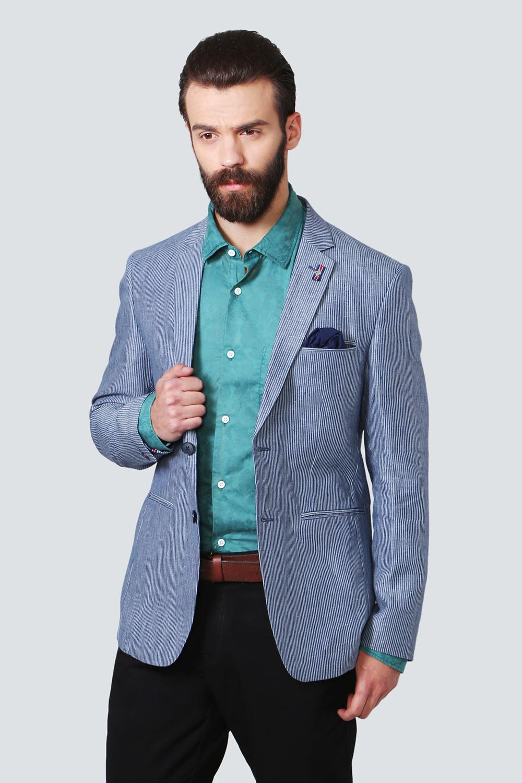 LP Suits & Blazers, Louis Philippe Blue Blazer for Men at ...