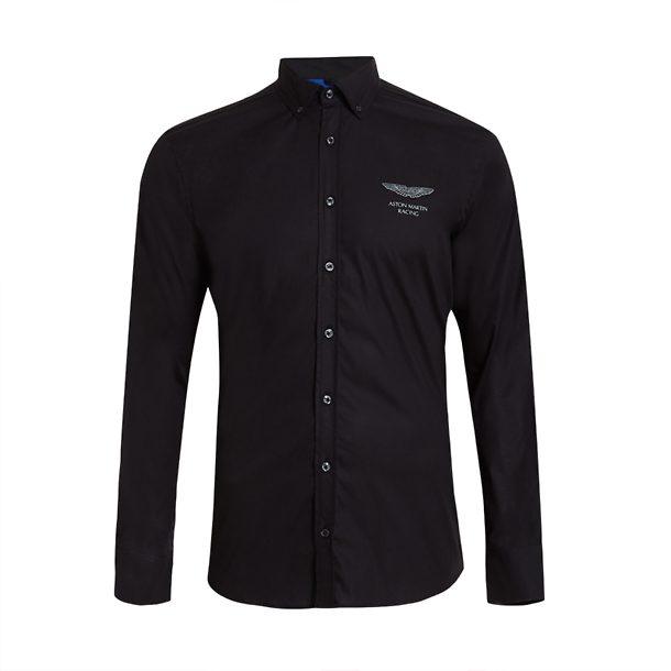 Buy Hackett London Black Aston Martin Racing Shirt For Men Online The Collective