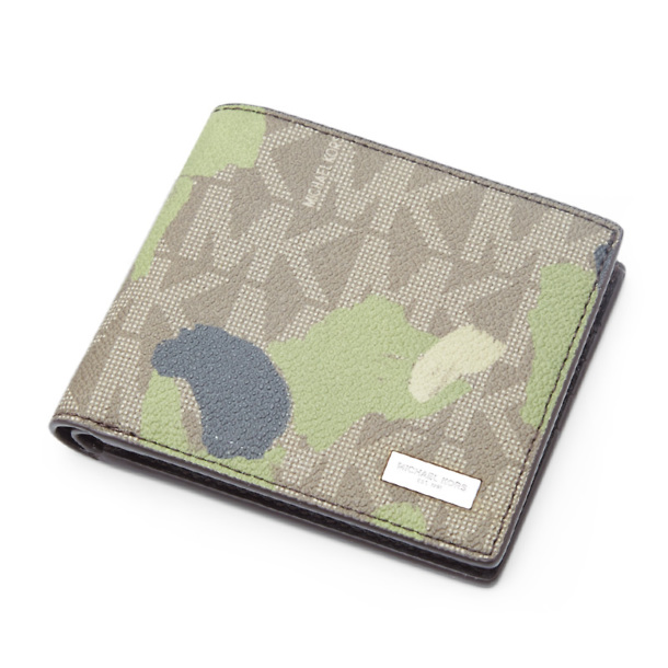 1f616ed9 Michael Kors Wallets, Green Come Camo Wallet for Men at Thecollective.in