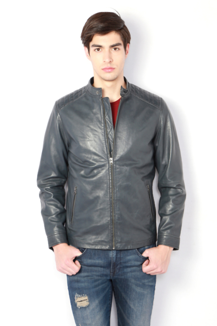 0d56bbabdf9 V Dot Jackets, Van Heusen Grey Jacket for Men at Vanheusenindia.com
