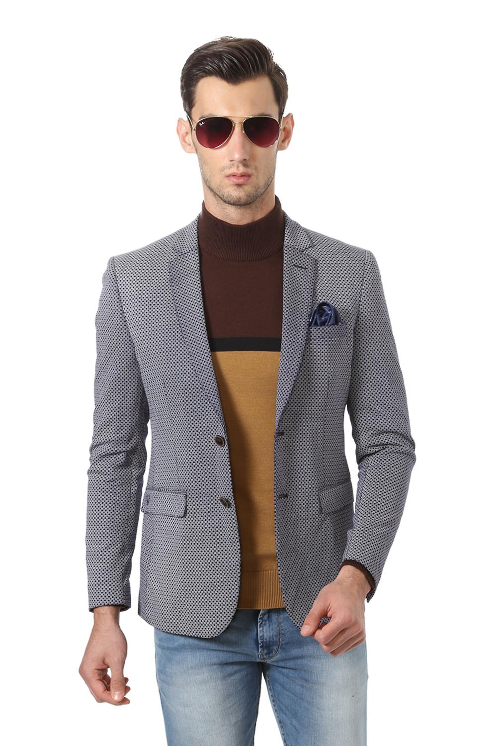 Buy Mens Allen Solly Blazer, Suits Online in India | Allensolly.com