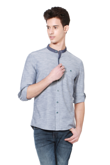 ac4a726bfbee Buy People Men Shirts - People Shirts Online India