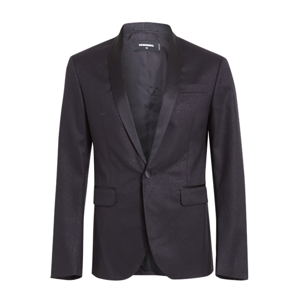 5c5cda0d Dsquared 2 Suits And Blazers, Black Shimmer Tux Jacket for Men at  Thecollective.in