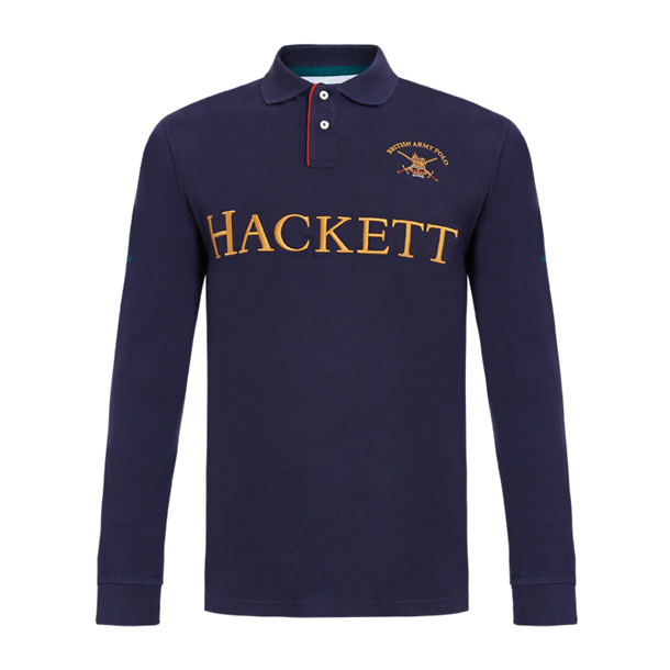 e9ef9227 Hackett London Polos, Navy Rugby Polo TShirt for Men at Thecollective.in