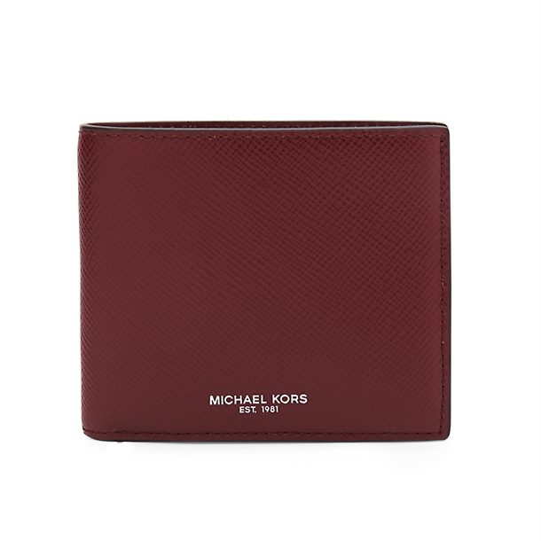 f905b43bc0a32c Michael Kors Wallets, Red Bifold Wallet for Men at Thecollective.in