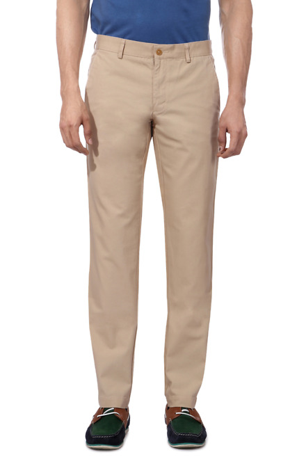 Muted Flat Front Chinos