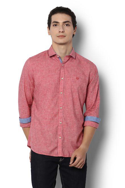 Van Heusen Red Shirt
