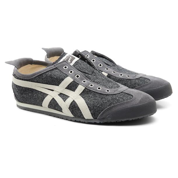 Onitsuka Tiger Shoes, Grey No Lace