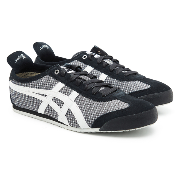 half off 06df6 750c1 Onitsuka Tiger Shoes, Black Laced Up Casual Shoes for Men at ...