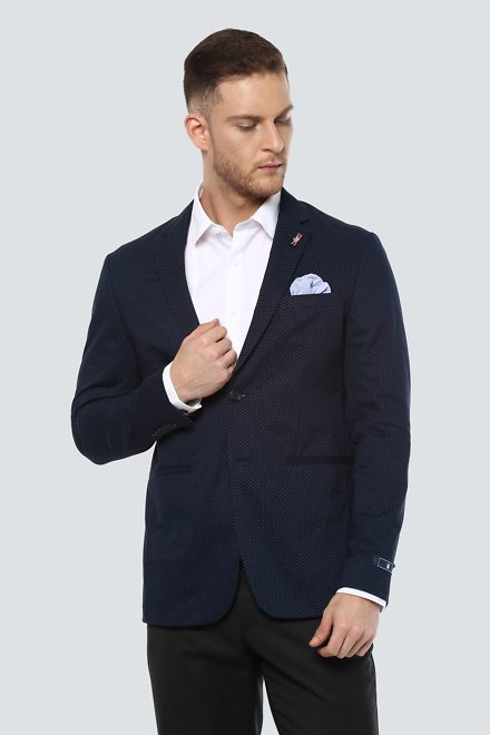 LP Suits U0026 Blazers Louis Philippe Navy Blazer For Men At Louisphilippe.com