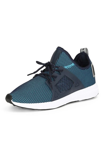 Peter England Blue Casual Shoes for Men