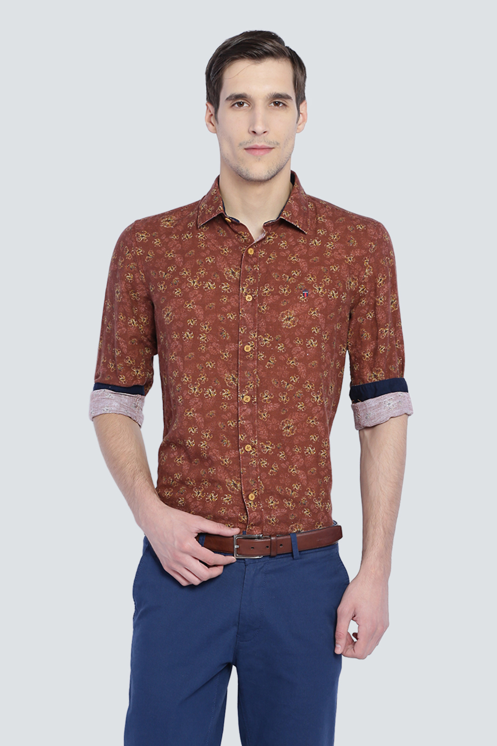 At ShirtsLouis Men Brown Lp Philippe Shirt For eED9HIYW2b
