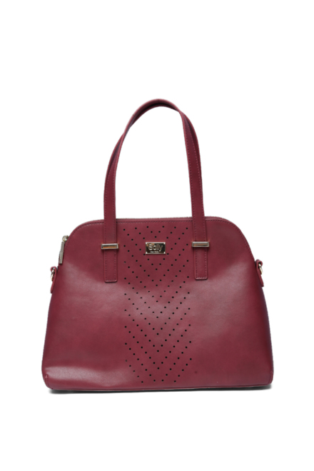 975715223a Solly Fashion Accessories, Allen Solly Maroon Handbag for Women at  Allensolly.com