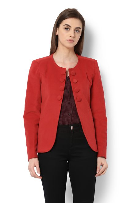86388b6cc Van Heusen Woman Jackets & Overcoats, Van Heusen Red Jacket for Women at  Vanheusenindia.com