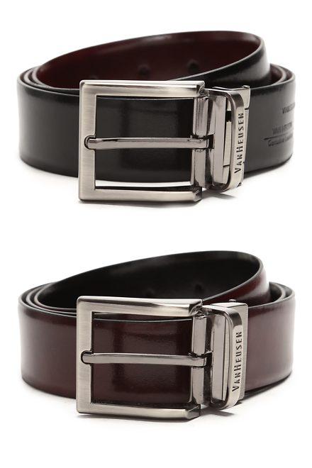 Van Heusen Mens Leather Belt