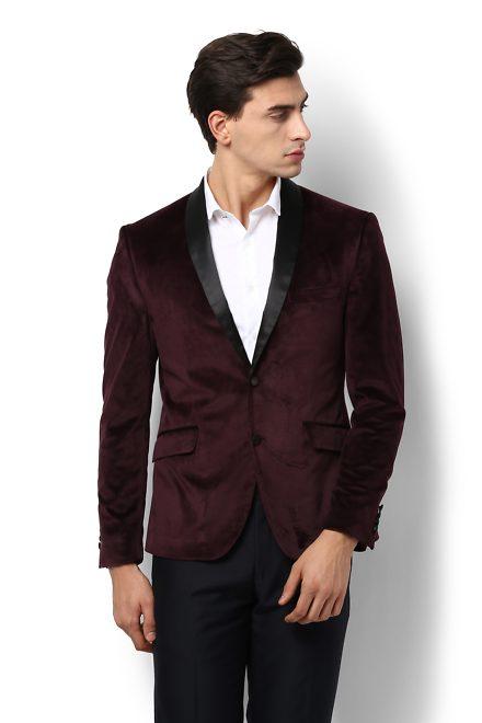 Suits Blazer Buy Mens Van Heusen Suits Blazer Vanheusenindia