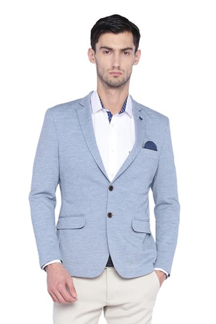 Allen Solly Blue Wimbledon Blazer