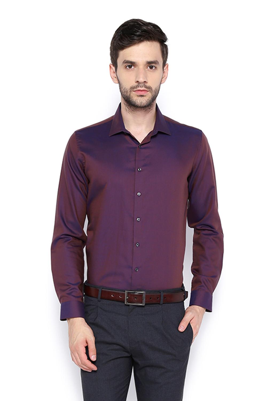 Van Heusen Shirts, Van Heusen Purple Shirt for Men at Vanheusenindia.com