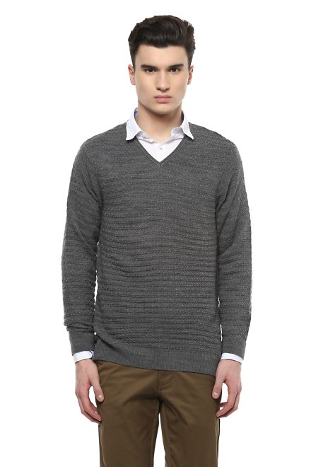 f5a1f0e49 Peter England Sweaters for Men - Buy Men s Sweaters Online ...