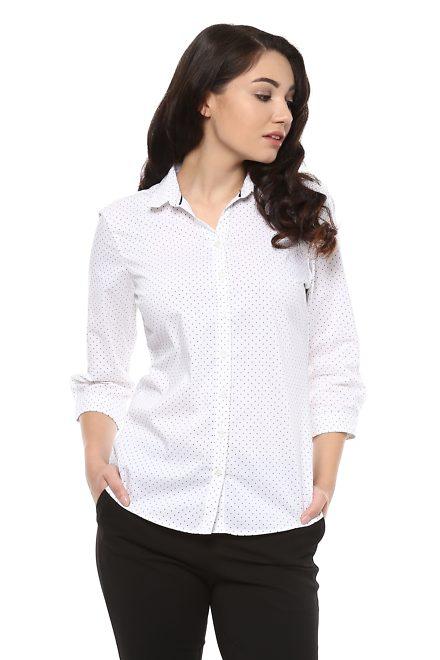 white shirt girl