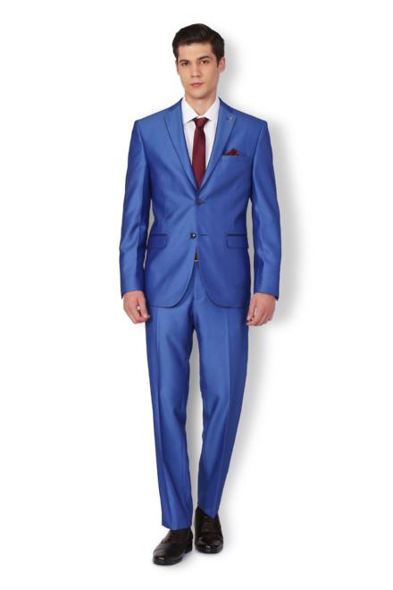5967f201eb9 Van Heusen Blue Two Piece Suit