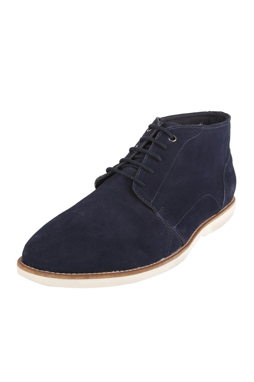 Van Heusen Navy Lace Up Shoes f8a28018a