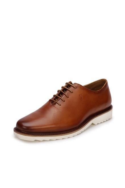 95f69abdc698a1 Van Heusen Brown Lace Up Shoes